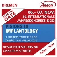 3. ZUKUNFTSKONGRESS – Visions in Implantology